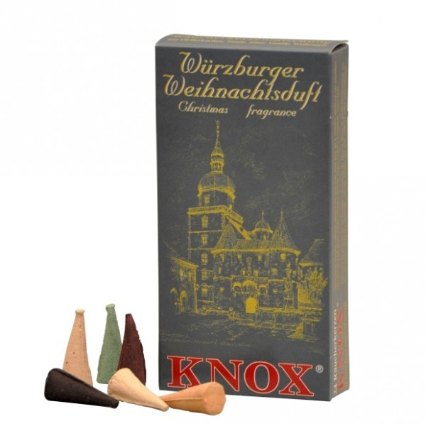 """Würzburger Christmas Fragrance red"" Incense Cones"