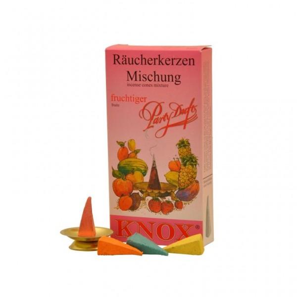 """Partyduft """"fruchtig""""-Räucherkerzen"""