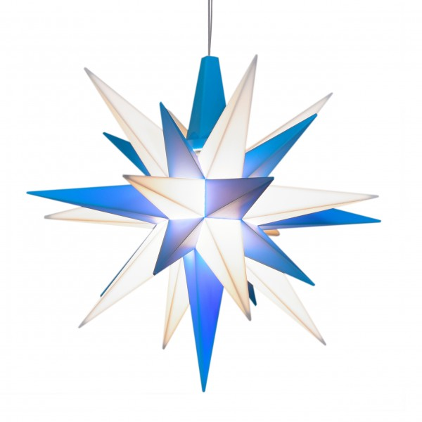 A1 - Original Star of Herrnhut for internal ø 13 cm blue / white