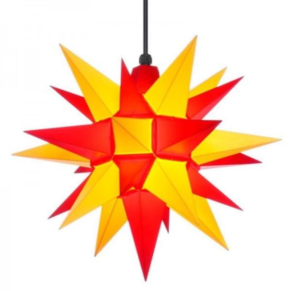 A4 - Original Star of Herrnhut for internal ø 40 cm yellow/red