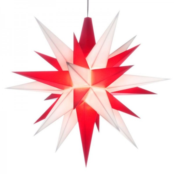 A1 - Original Star of Herrnhut for internal ø 13 cm white/red
