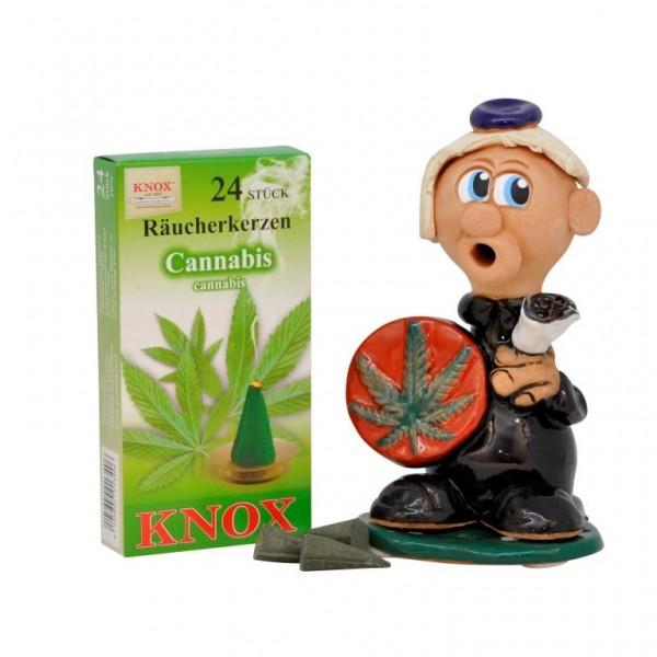 Geschenkkarton Marihuana 14cm