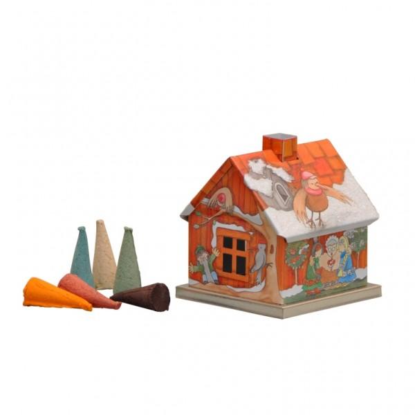 Räucherhaus-Schneeweißchen und Rosenrot