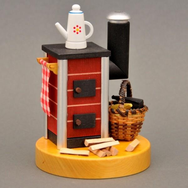 Ofen mit Kanne für Räucherkerzen