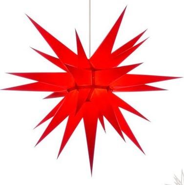I7 - ORIGINAL HERRNHUTER STERN FOR INSIDE Ø APPROX. 70 CM RED