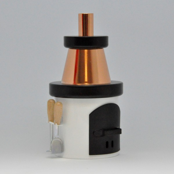 Smoking oven - Stack - white