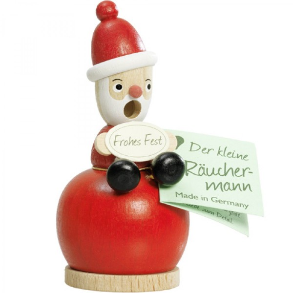 Santa Claus on red Ball