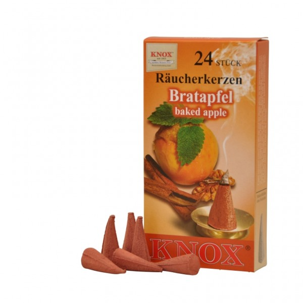 Baked Apple-Incense Cones