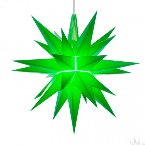 A1 - Original Herrnhuter Stern für innen ø 13 cm grün LED