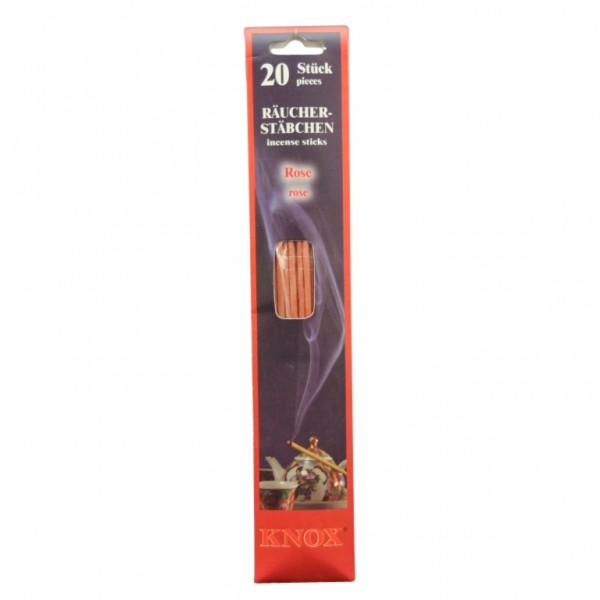 Knox-Incense-Sticks - Rose
