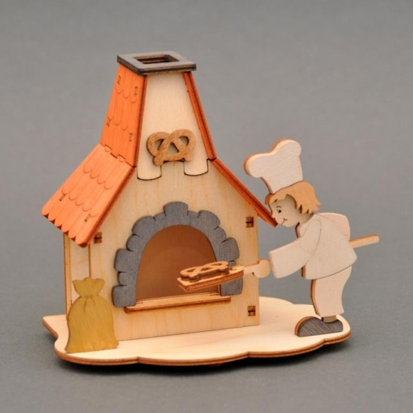Do-it-yourself-kit incense smoking oven