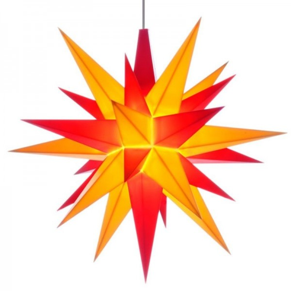 A1 - Original Star of Herrnhut for internal ø 13 cm yellow/red