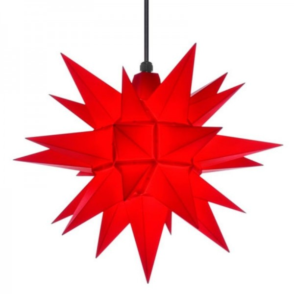A4 - Original Herrnhuter Stern für innen ø 40 cm rot