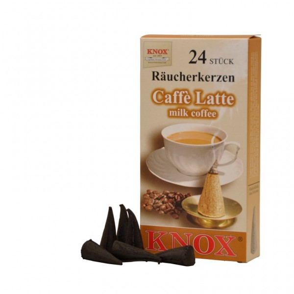 Caffé-Latte-Incense Cones