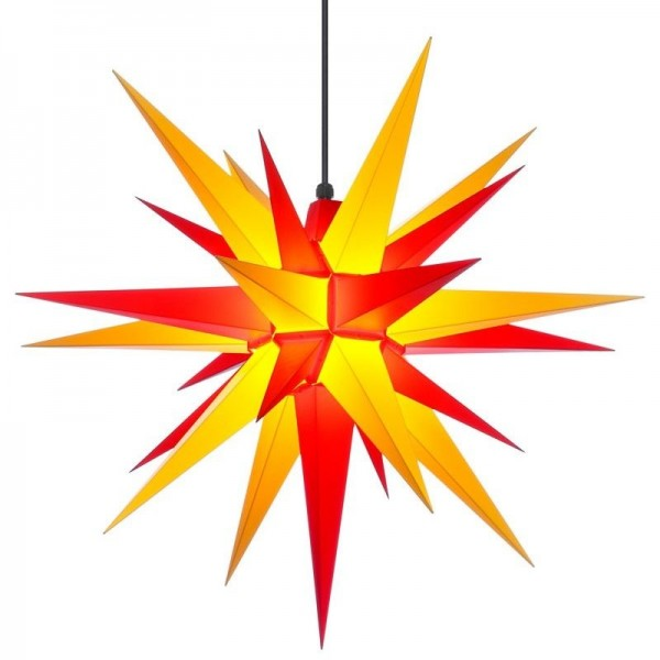 A7 - Original Herrnhuter Stern für außen ø 70 cm gelb/rot