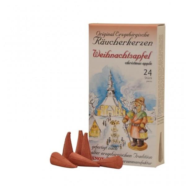Erzgebirgischer Christmas Apple-Incense Cones