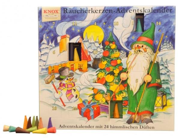 Advents-Kalender mit 24 himmlischen Düften 2016