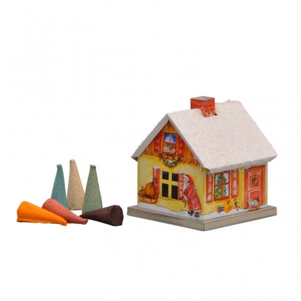 Räucherhaus-Weihnachtsmann