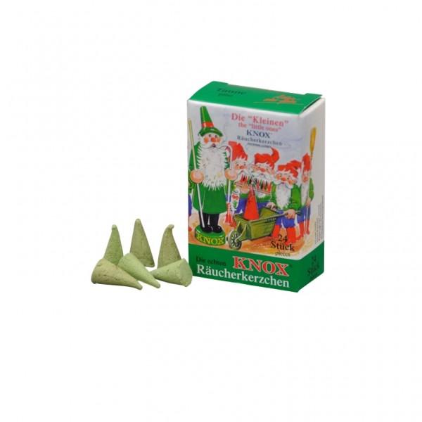 Mini-Tanne-Räucherkerzen