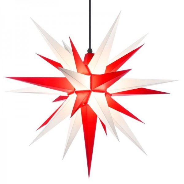 A7 - Original Star of Herrnhut for internal ø 70 cm white/red
