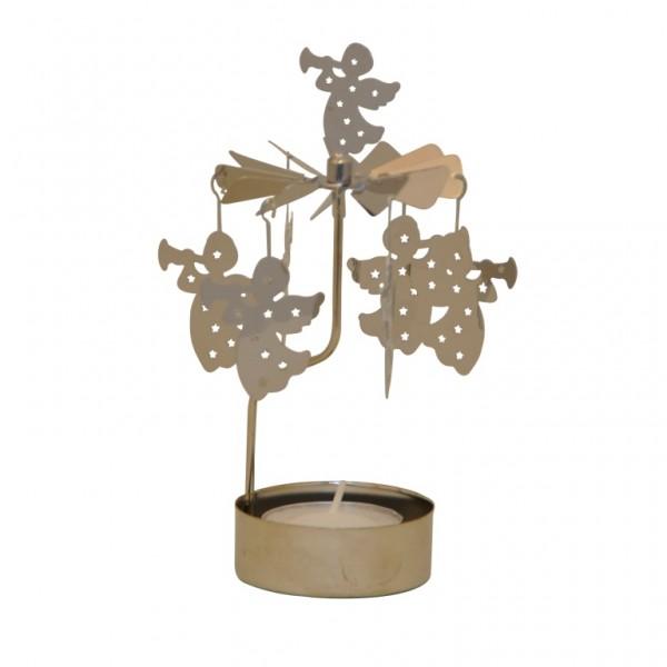 Lichtspiel Engel mit 1 Teelicht