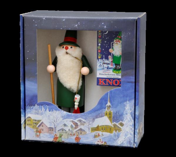 Geschenkkarton Knox-Räuchermann