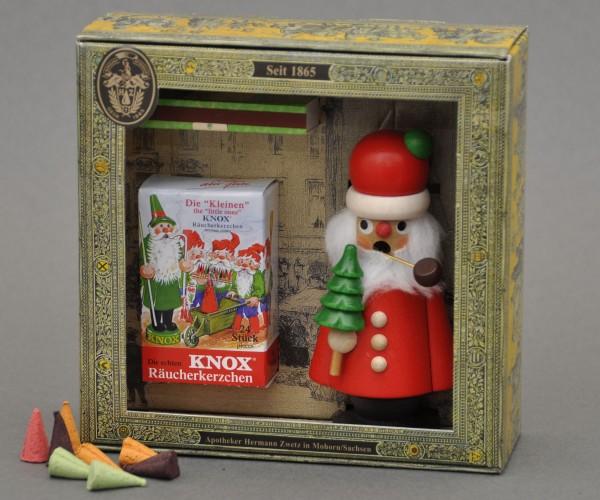 Geschenkkarton Knox-Weihnachtsmann