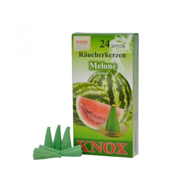 Melone-Räucherkerzen