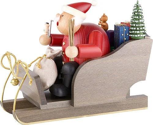 Smoker Santa Claus with Sleigh