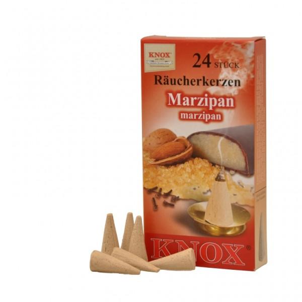 Marzipan-Räucherkerzen