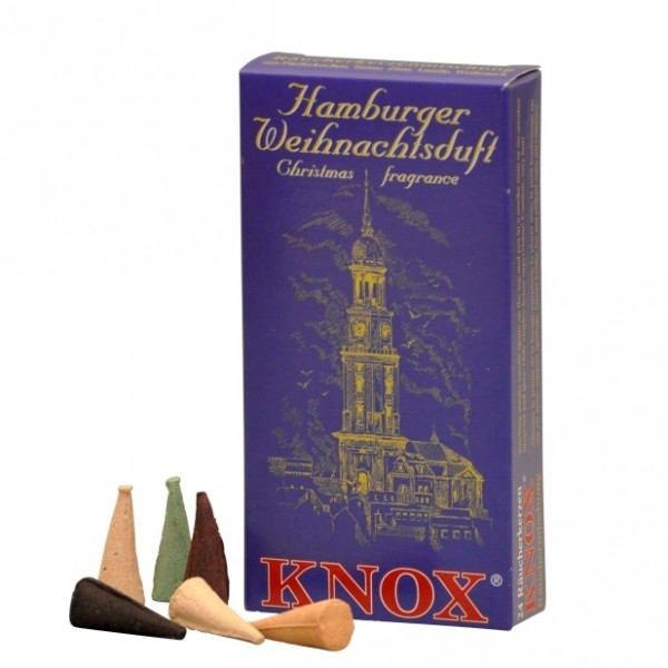 """Haburger Christmas Fragrance red"" Incense Cones"
