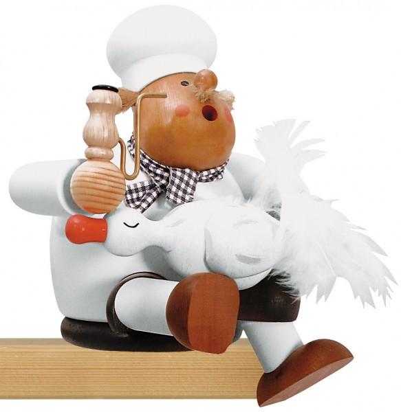 Räuchermann - Koch mit Gans
